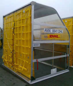 Nordisk DHL AMX container