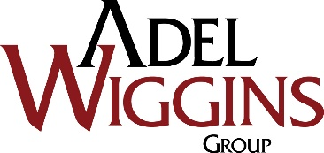 Adel Wiggins Aerospace Logo
