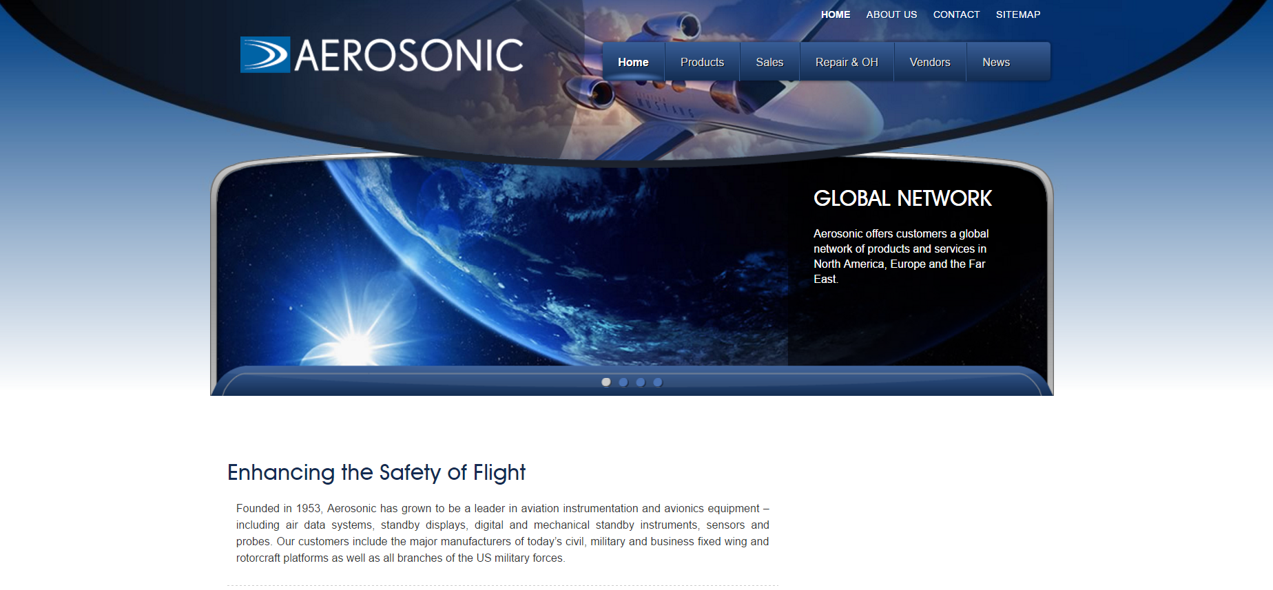 Aerosonic Website