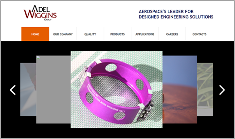 Adel Wiggins Aerospace Website