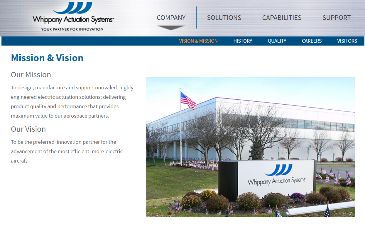 Whippany Actuation Website