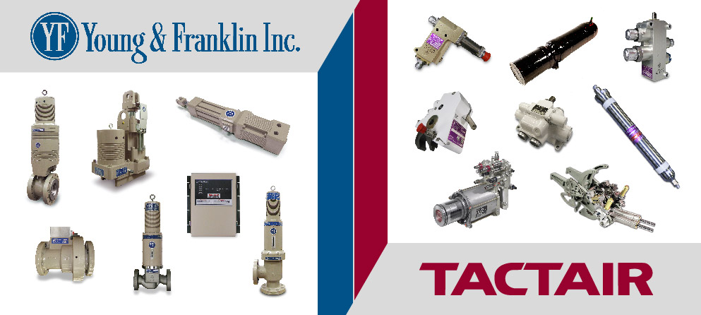 Young and Franklin / Tactair Parts Banner
