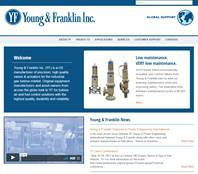 Young and Franklin Website